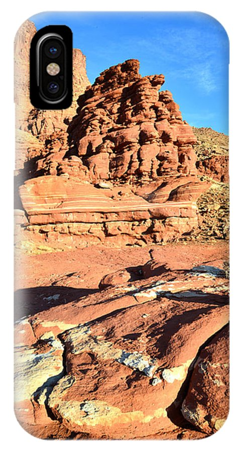 Canyonlands National Park IPhone X Case featuring the photograph Potash 12 by Ray Mathis