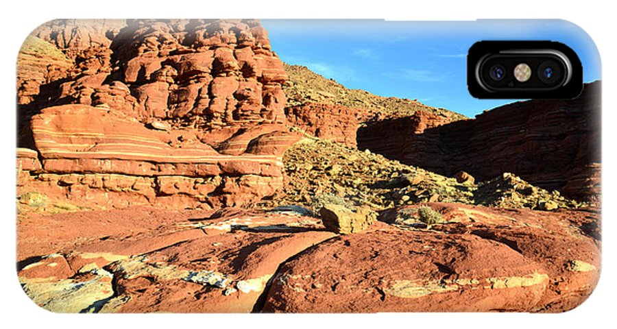 Canyonlands National Park IPhone X Case featuring the photograph Potash 13 by Ray Mathis