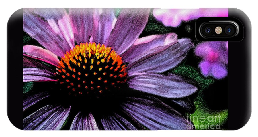 Close-up Photography IPhone X Case featuring the photograph Praise by Melanie Dix