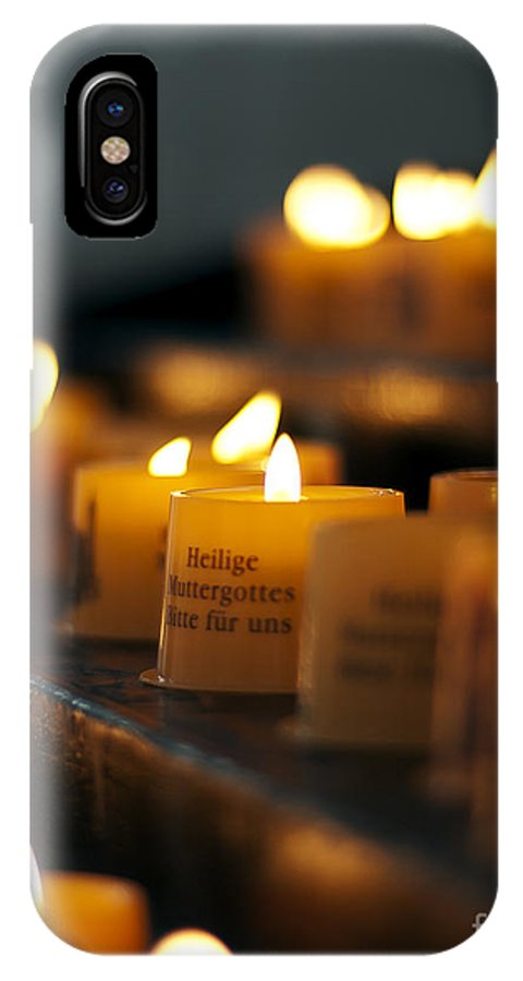 Photographs IPhone X Case featuring the photograph Prayers And Hope by Ivy Ho