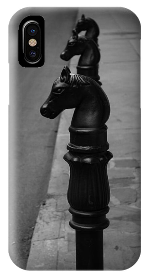 Pretty Ponies IPhone X Case featuring the photograph Pretty Ponies by Beth Vincent