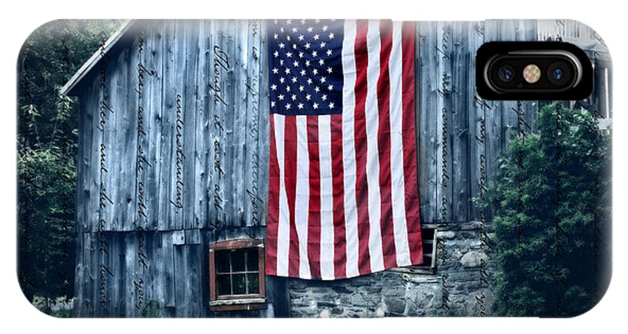 Old IPhone X Case featuring the photograph Pride by T-S Fine Art Landscape Photography