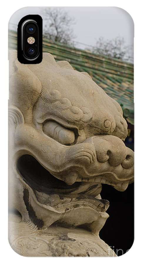 IPhone X Case featuring the photograph Prince Gong's Mansion by Terri Winkler
