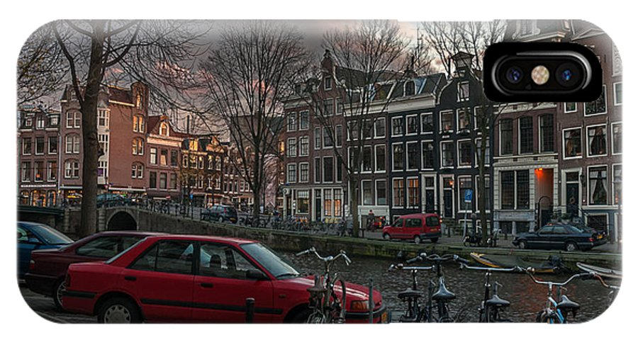 Holland Amsterdam IPhone X Case featuring the photograph Prinsengracht 791. Amsterdam. by Juan Carlos Ferro Duque