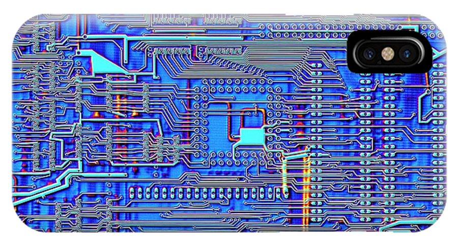 Printed Circuit Board IPhone X Case