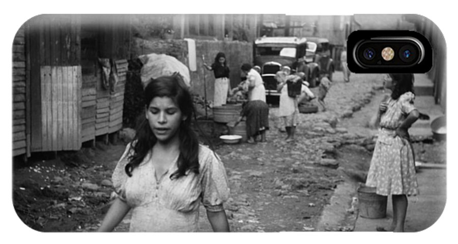 1942 IPhone X Case featuring the photograph Puerto Rico Slum, 1942 by Granger