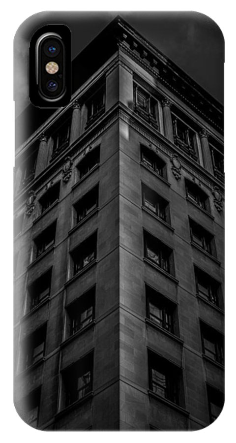 Building IPhone X Case featuring the photograph Put Your Best Side Forward by Edward Khutoretskiy
