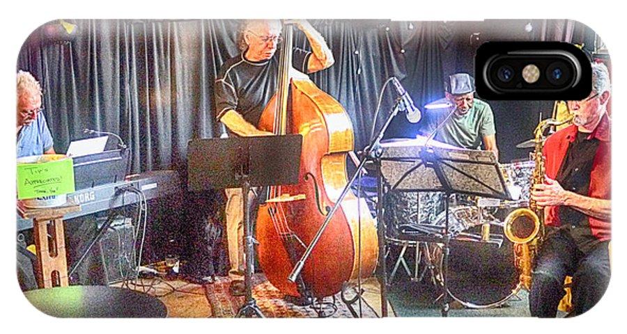Jazz Quartet IPhone X Case featuring the photograph Quartet by Jessica Levant