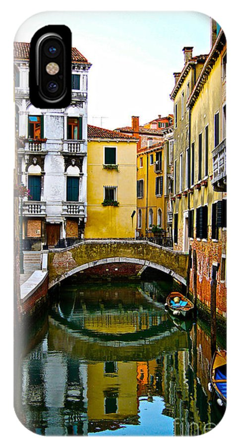 Venice IPhone X Case featuring the photograph Quiet Venice Morning by Scott Kraus