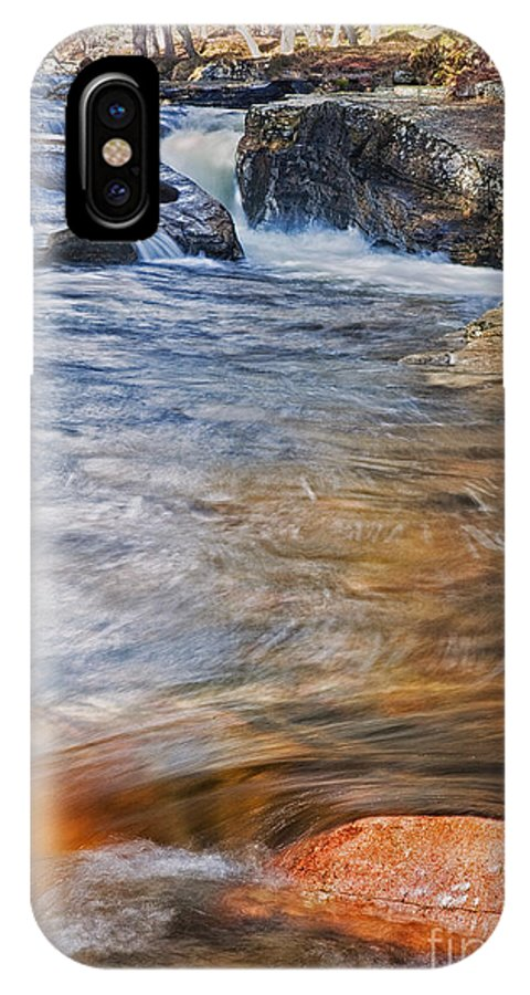 Water IPhone X Case featuring the photograph Quoich Water by Mike Stephen