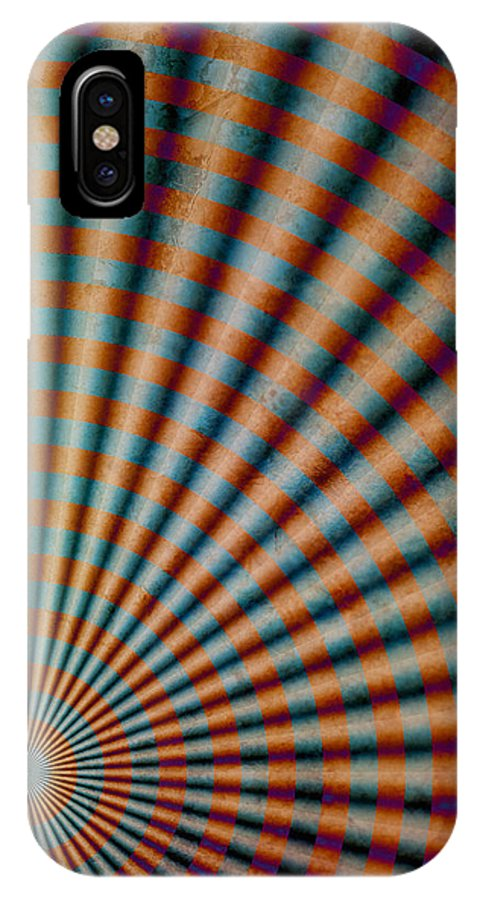 Surreal IPhone X Case featuring the digital art Radiant 2 by WB Johnston