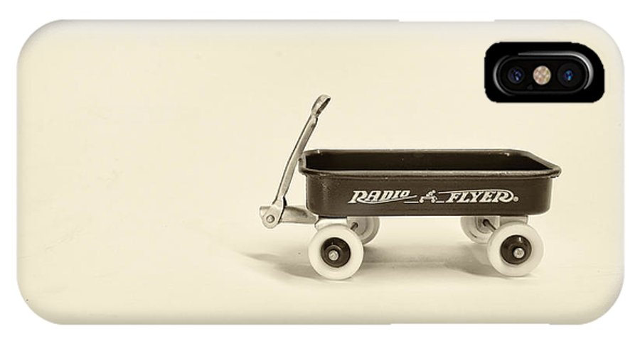 Radio Flyer IPhone X Case featuring the photograph Radio Flyer 2 by Jack Paolini