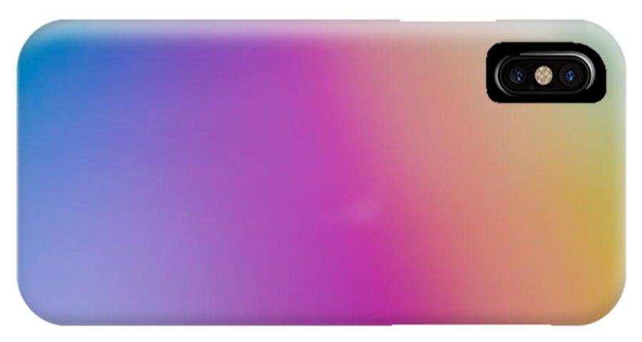 Rainbow IPhone X / XS Case featuring the photograph Rainbow Light by Jessica Yahn