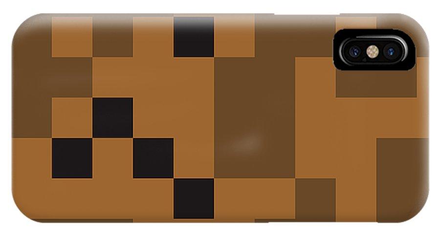 Sahara IPhone X Case featuring the digital art Random Digital Art Sahara 4 by Jan Hillov