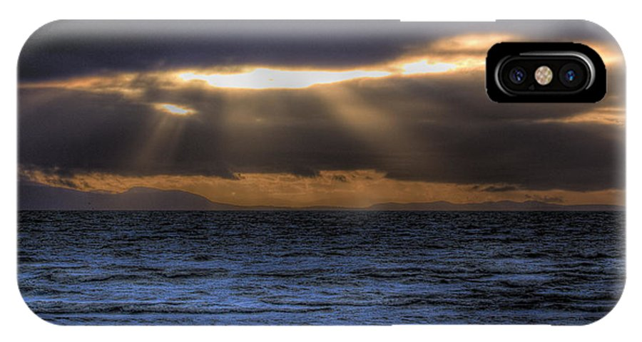 Sun Rays IPhone X Case featuring the photograph Rays Of Light by Naman Imagery