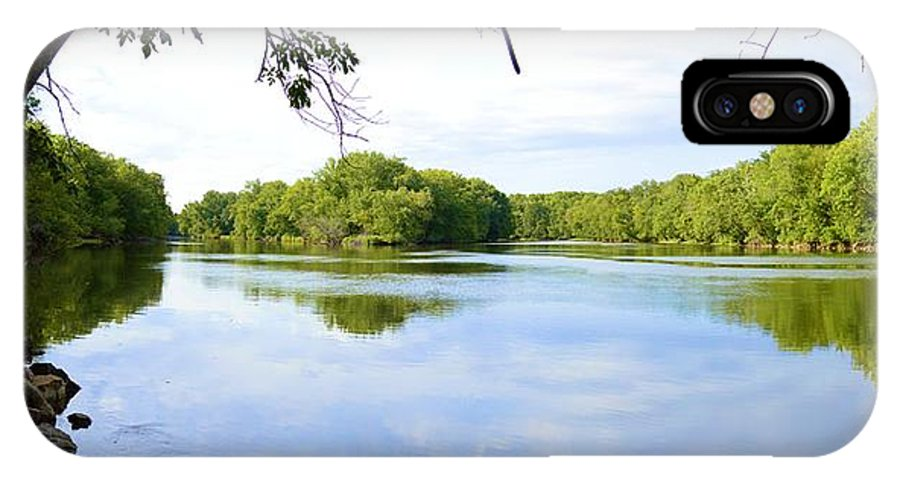 Environment IPhone X Case featuring the photograph Ready For Change by Bonfire Photography
