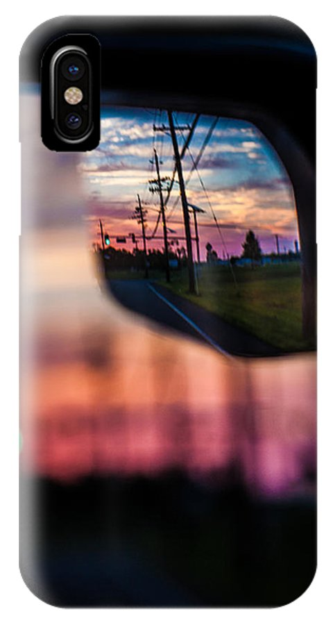 Landscape IPhone X Case featuring the photograph Rear View Landscape by Theodore Lewis