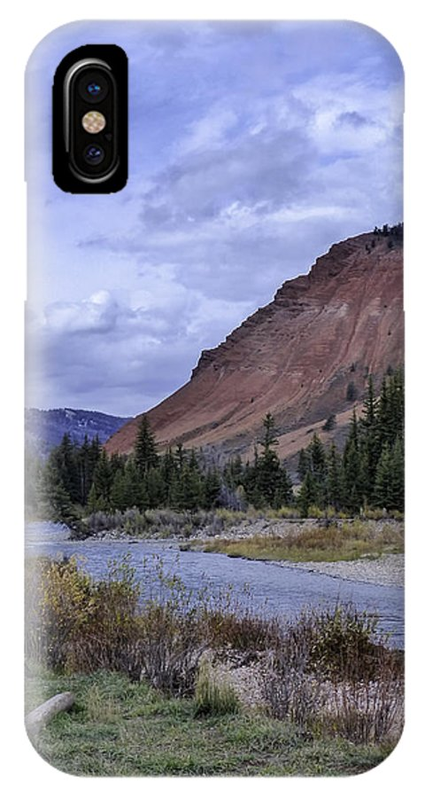 Red Hills IPhone X Case featuring the photograph Red Hills Beauty by Carolyn Fox