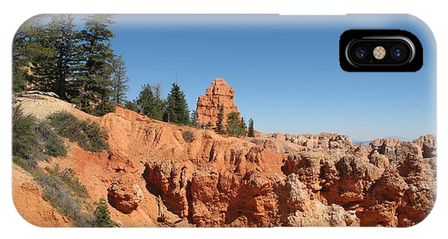 Rocks IPhone X Case featuring the photograph Red Red Rocks by Christiane Schulze Art And Photography
