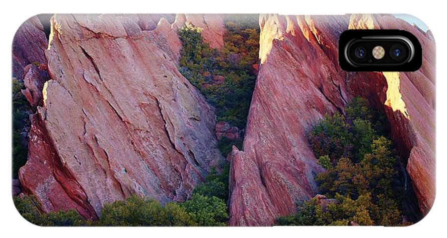 Colorado IPhone X / XS Case featuring the photograph Red Rock Autumn by David Broome