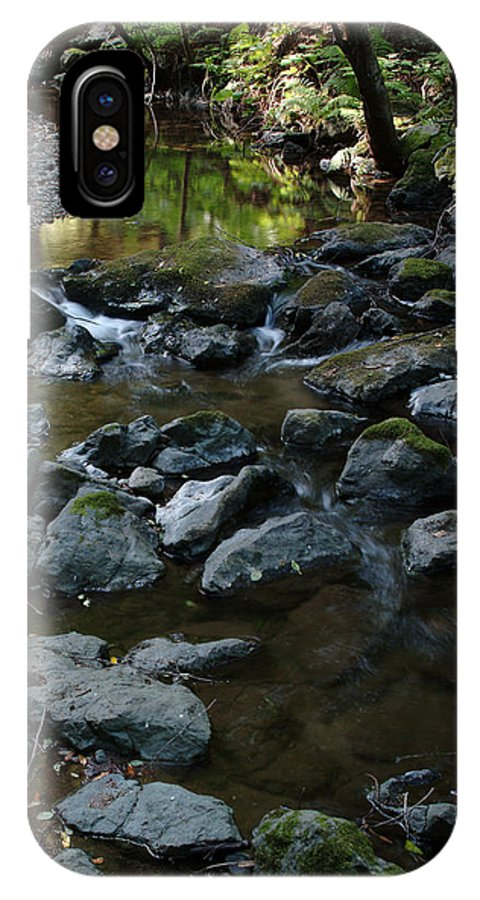 Redwood Creek IPhone X Case featuring the photograph Redwood Creek by Wesley Elsberry