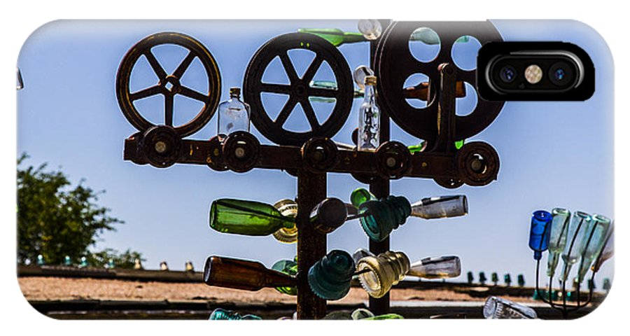 Bottleneck Ranch IPhone X Case featuring the photograph Reels by Angus Hooper Iii