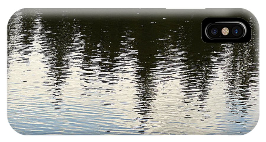 Nature IPhone X Case featuring the photograph Reflections by David Kehrli