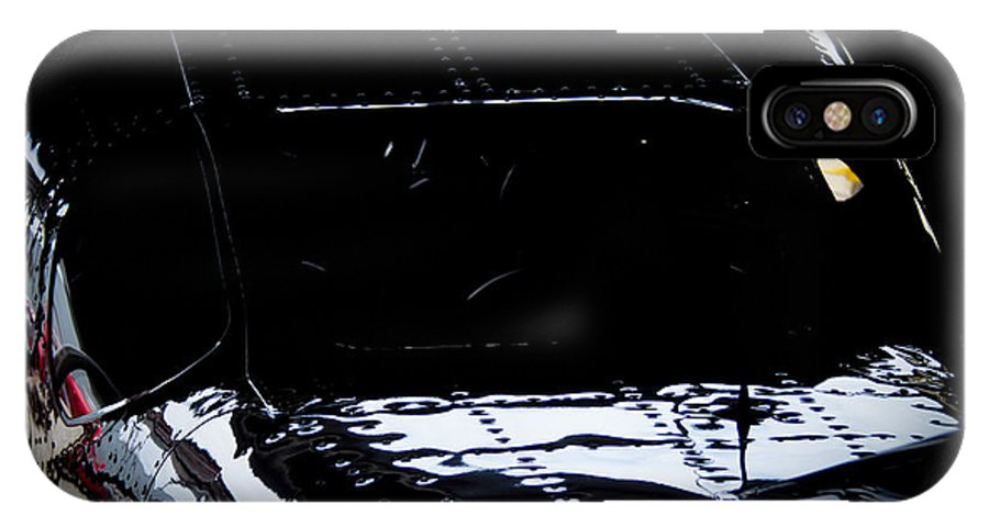 Cessna IPhone X Case featuring the photograph Reflective Cessna by Paul Job