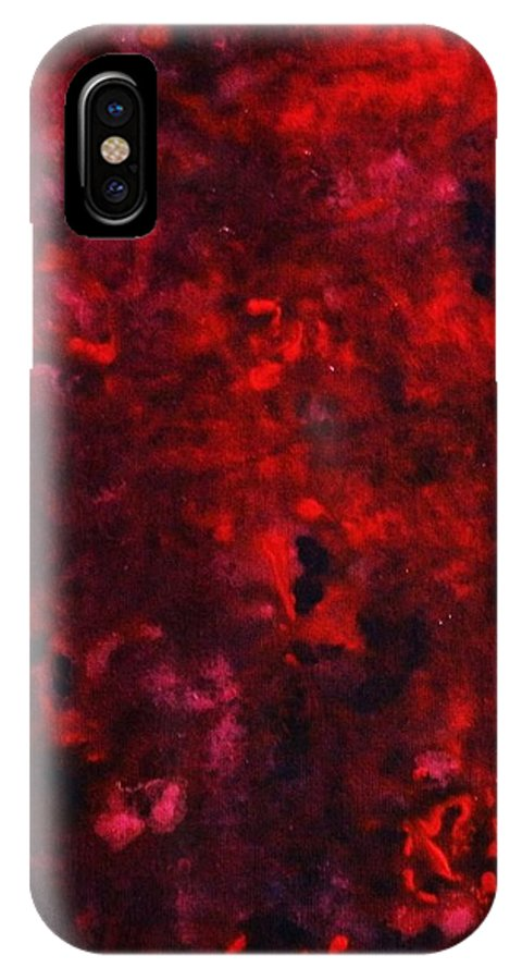 Acrylic IPhone Case featuring the painting Remembrance by Todd Hoover