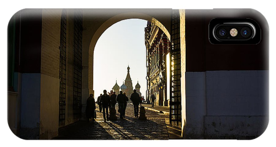Architecture IPhone X Case featuring the photograph Resurrection Gate by Alexander Senin