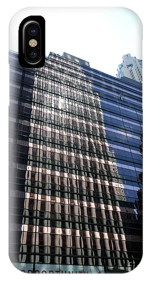 City Scene IPhone X Case featuring the photograph Retail Op by James Dolan
