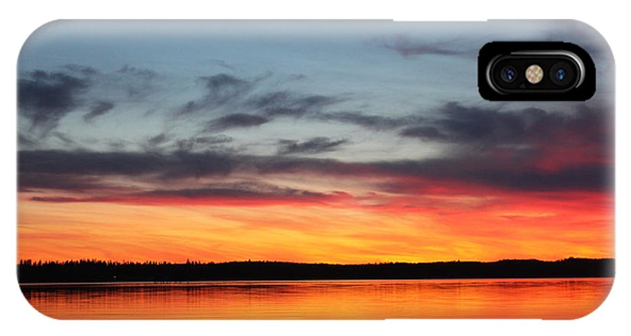 Nature IPhone X Case featuring the photograph Richness by Laurie Pelletier
