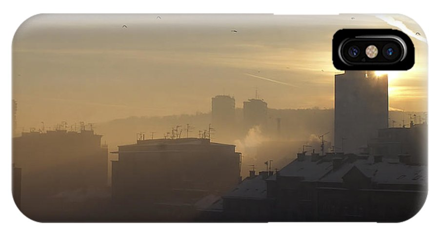 Down IPhone X Case featuring the photograph Rise And Shine by Zoran Berdjan