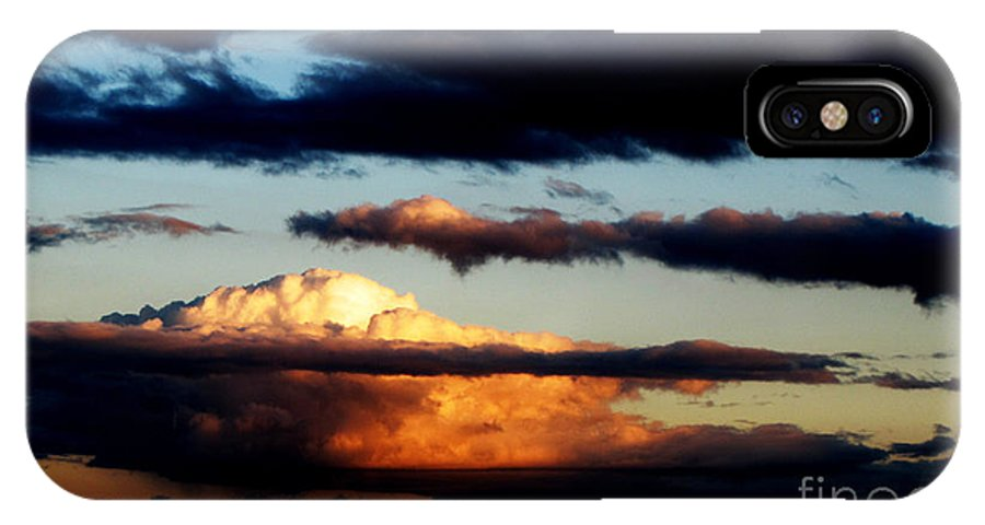 Ron Tackett IPhone X Case featuring the photograph Rise by Ron Tackett