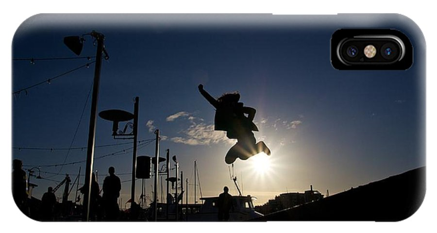IPhone X Case featuring the photograph Rising Above The Light 2 by JM Photography