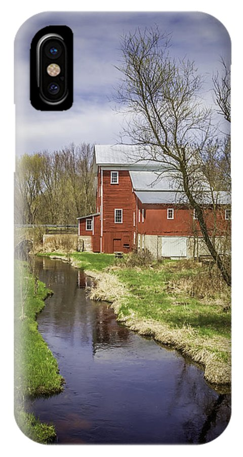 Rising Star Mill IPhone X Case featuring the photograph Rising Star Mill by Thomas Young