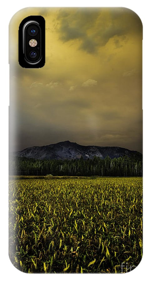 Risk And Reward IPhone X Case featuring the photograph Risk And Reward by Mitch Shindelbower