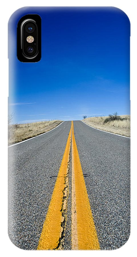 Road IPhone Case featuring the photograph Road Through Sulphur Flats by Jim DeLillo