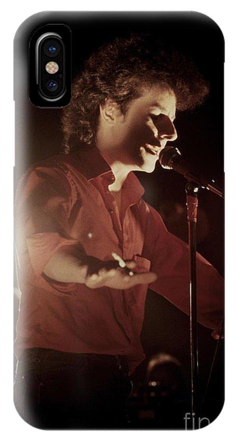 Photos IPhone X Case featuring the photograph Robert Hazard by Concert Photos