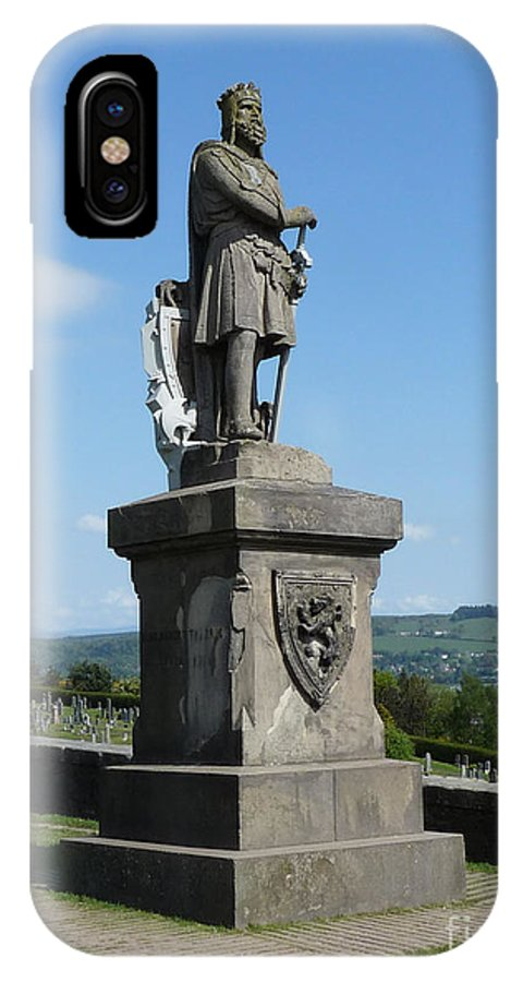 Stirling IPhone X Case featuring the photograph Robert The Bruce by Deborah Smolinske