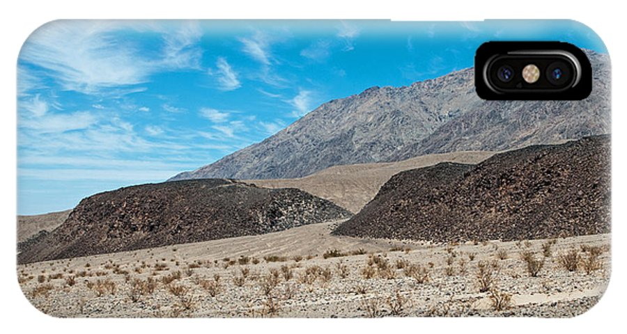 Death Valley IPhone X / XS Case featuring the photograph Rock Piles by Stephen Whalen