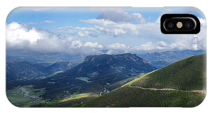Rocky Mountain National Park IPhone X Case featuring the photograph Rocky Mountain National Park by Alan Hutchins