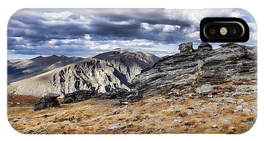 Rocky Mountain National Park IPhone X Case featuring the photograph Rocky Mountain National Park by Nathan Gingles
