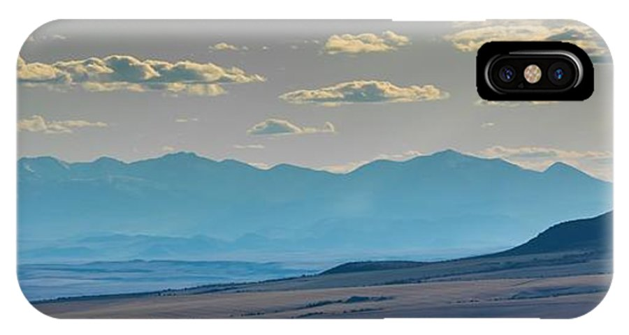 IPhone X Case featuring the photograph Rocky Mountain Road by Dr Gary Guest
