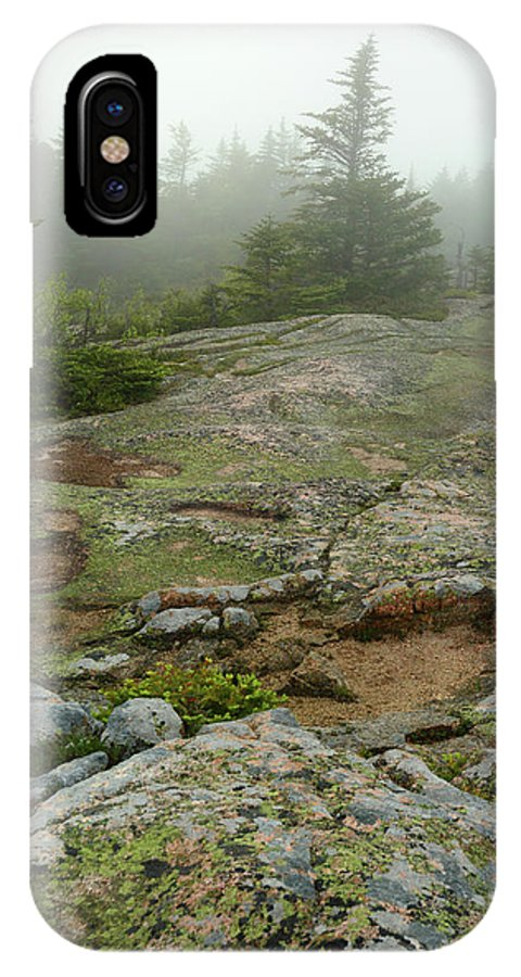 Day IPhone X Case featuring the photograph Rocky View From Near The Top by Darlyne A. Murawski