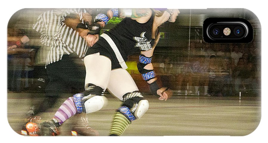 Gallatin Roller Girlz IPhone X Case featuring the photograph Roller Girlz 1 by Jason Standiford