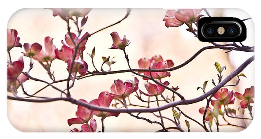 Romance IPhone X / XS Case featuring the photograph Romance Flora by Olga Ska