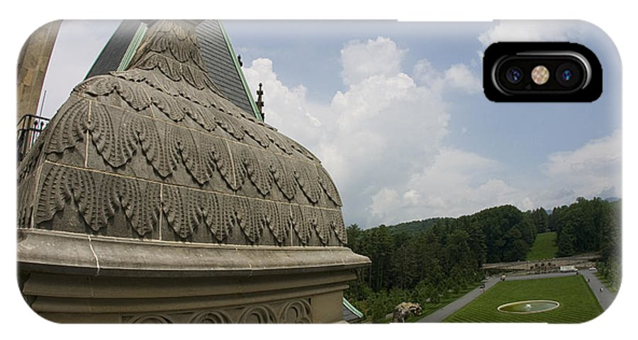 Biltmore Estate IPhone X Case featuring the photograph Roof Of Biltmore Estate by Jason O Watson