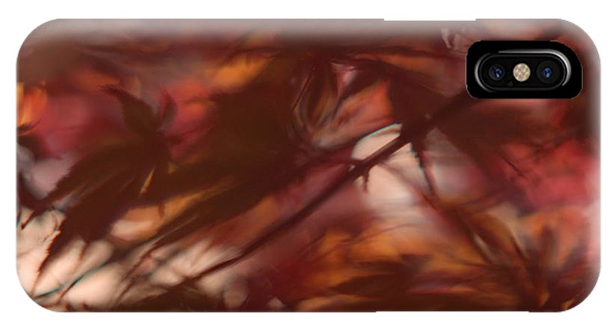 Leaf IPhone X Case featuring the photograph Rosee by Gary Bartoloni