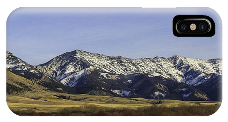 Bridger Mountain Range IPhone X Case featuring the photograph Ross Pass Willows by Dr Gary Guest